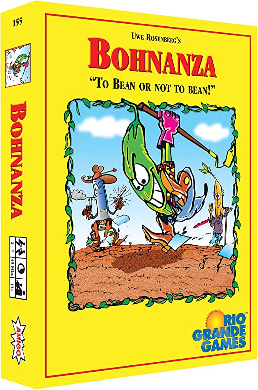 Bohnanza: To Bean or not to Bean Card Game