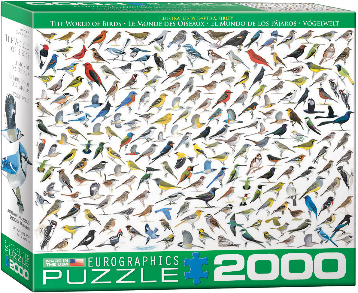 The World Of Birds - EuroGraphics Jigsaw Puzzle 2000 pcs