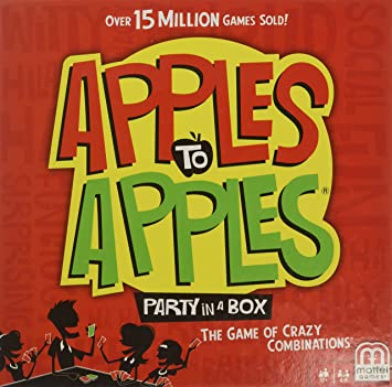 Apples To Apples Game (English Edition)