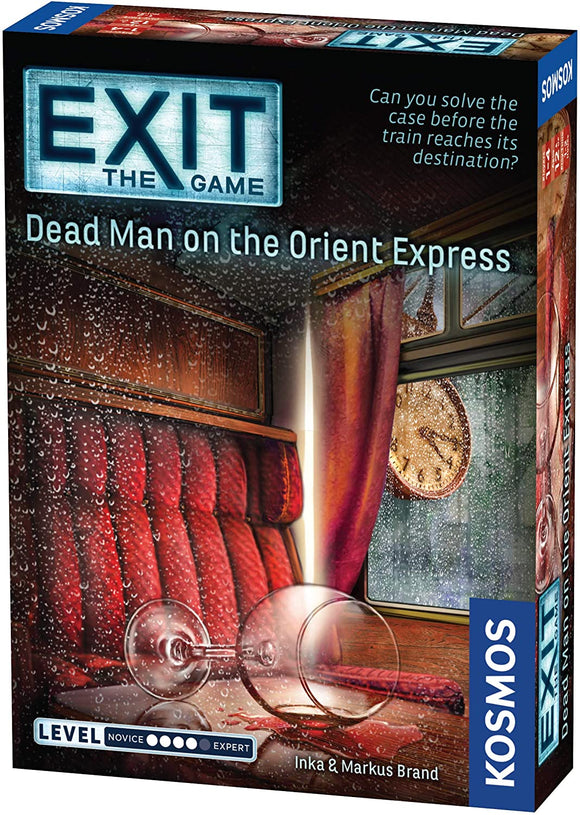 EXiT Games: DEAD MAN ON THE ORIENT EXPRESS