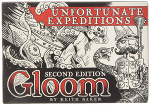 Gloom:  Unfortunate Expeditions (second edition) EXPANSION Card Game