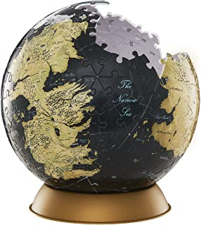3D Game of Thrones: Westeros and Essos Globe Puzzle - 4D Cityscape 240 piece jigsaw puzzle