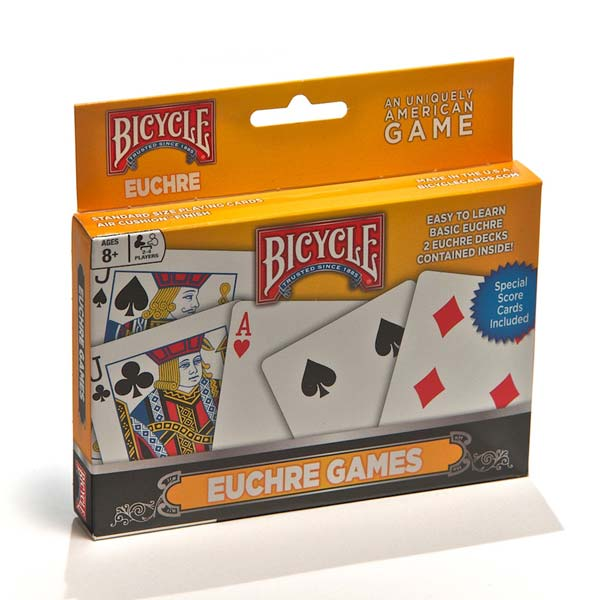 Playing Cards: Euchre - Bicycles