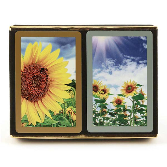 Playing Cards: Sunflower (2 Sets) - Congress