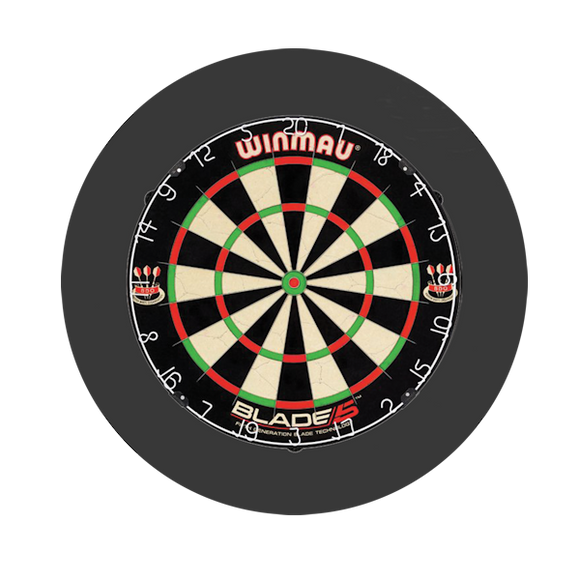 30 Inch ROUND Foam Dartboard Surround-PICKUP IN STORE ONLY