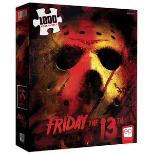 "Collector's Puzzle - Friday The 13th ""Friday The 13th"" -1,000 piece Jigsaw Puzzle"