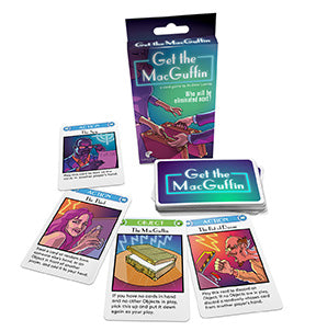 Get the MacGuffin Card Game CLEARNANCE