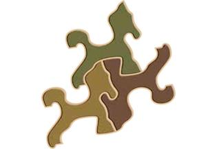 High Difficulty Special Shaped Puzzle: Halfinger Duo - DTOYS 239 pieces