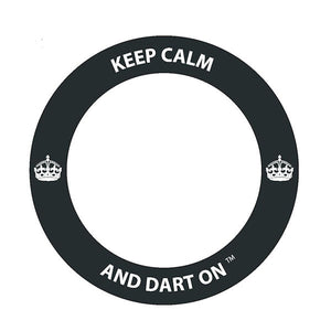 Keep Calm and Dart On™ Dartboard Surround