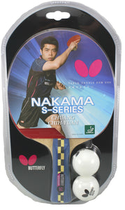 Table Tennis: Nakama S4 Series Racquet - Butterfly