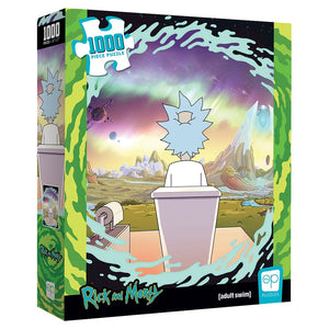 "Collector's Puzzle - Rick and Morty ""Shy Pooper"" 1,000 piece puzzle"