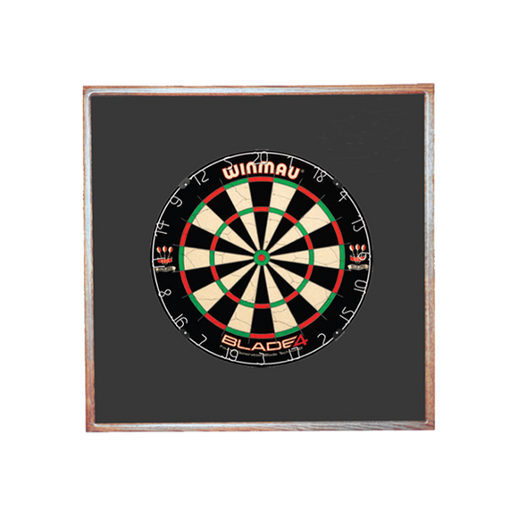 Winmau Blade 5 Dual Core Dartboard and Wood Frame Package (Allow 2 Weeks)