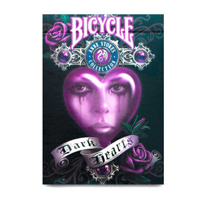 Playing Cards: (Anne stokes) Dark Hearts - Bicycle
