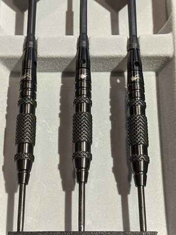 Black Widow Knurled 90% Tungsten Darts