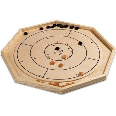 Crokinole - Baltic Birch and Ash Crokinole Board
