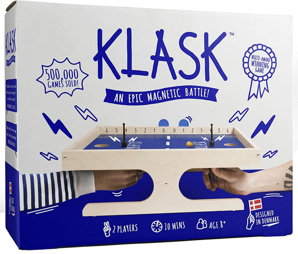 Klask: An Epic Magnetic Battle