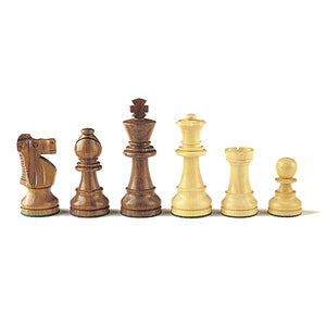 Chess: Wooden Chess Pieces - Mind Matters