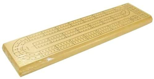 Cribbage: Board - 2 Track Natural Colour  - CHH