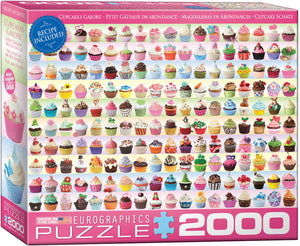 Cupcakes Galore - EuroGraphics Jigsaw Puzzle 2000 pcs