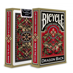 Playing Cards: Gold Dragon Back - Bicycle
