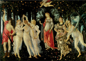 Fine Art (Botticelli) Primavera/Allegory of Spring - DToys 1000 piece jigsaw puzzle