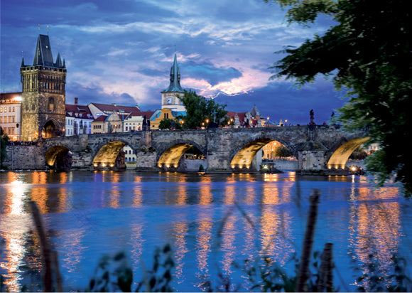 Prague Bridge (Czech Republic)- DTOYS 1000 piece jigsaw puzzle