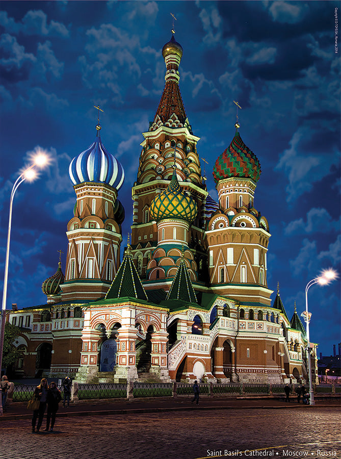 Saint Basil's Cathedral (Moscow Russia) - DTOYS 1000 piece jigsaw puzzle