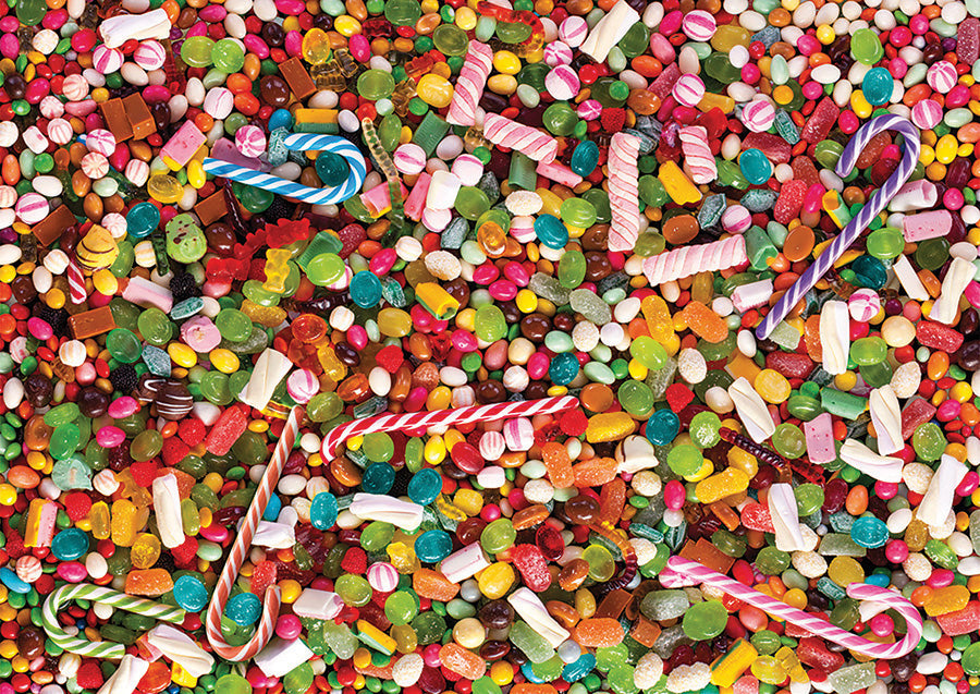 High Difficulty Puzzles - Candy - DTOYS 1000 piece jigsaw puzzle