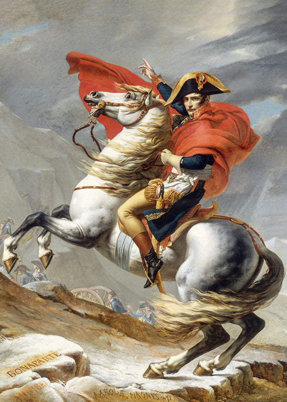 Fine Art (David) Napoleon Crossing the Alps - DTOYS 1000 piece jigsaw puzzle