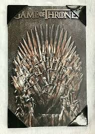 Game Of Thrones: Iron Throne Wall Plaque - Official HBO