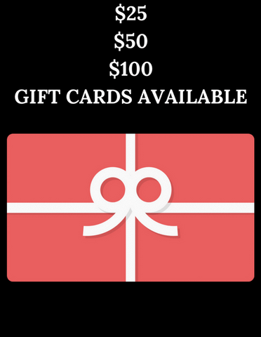 Online Only Gift Cards