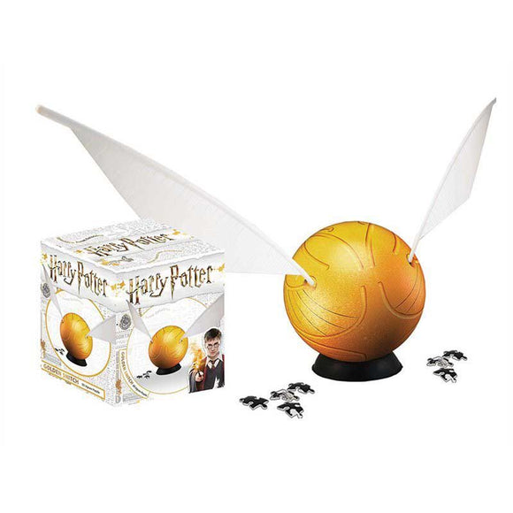 3D Harry Potter Golden Snitch - 64 pieces