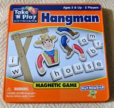 "Hangman Magnetic Take ""N"" Play Anywhere (CLEARANCE)"