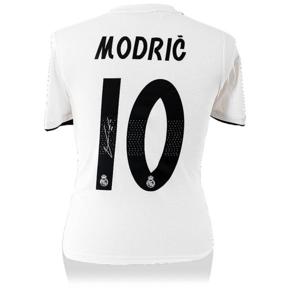 Luka Modric Authentic Signed 2018-19 Real Madrid Jersey