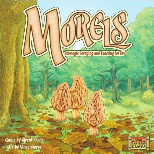 Morels: Strategic Foraging and Feasting Board Game for Two