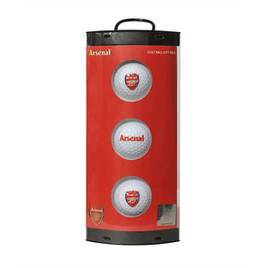 Golf Ball Gift Pack: Arsenal (CLEARANCE)