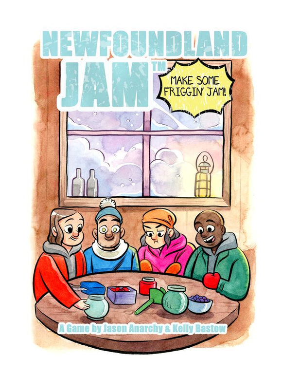 Newfoundland Jam Card Game