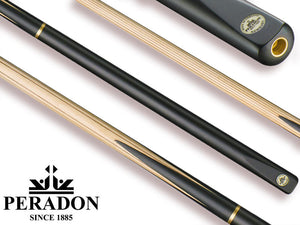 Peradon Newbury Snooker Cue with Maple Shaft and Case