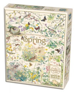 Country Diary Spring - CobbleHIll 1,000 piece Jigsaw Puzzle