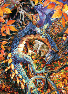 Abby's Dragon - CobbleHIll 1,000 piece Jigsaw Puzzle