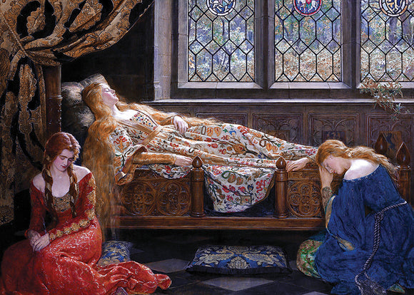 Fine Art (Collier) The Sleeping Beauty - DToys 1,000 piece Jigsaw Puzzle