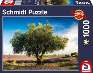 Olive Tree in Provence (Schmidt) 1000 pc Jigsaw Puzzle