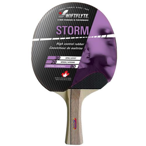 Table Tennis Rackets: Storm (Concave) - Swiftflyte
