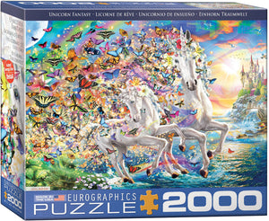 Unicorn Fantasy - EuroGraphics Jigsaw Puzzle 2000 pcs