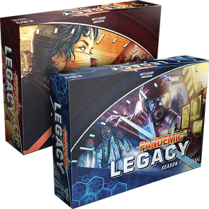 Pandemic Legacy: Season 1 Blue Box