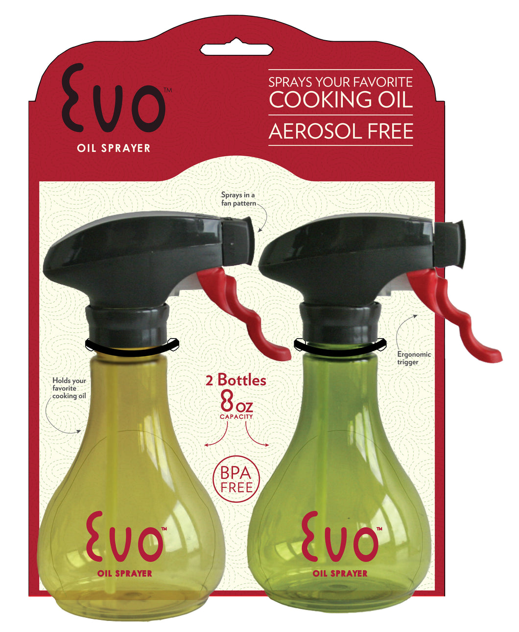 Eco Oil Sprayer, 8oz. 2-pack