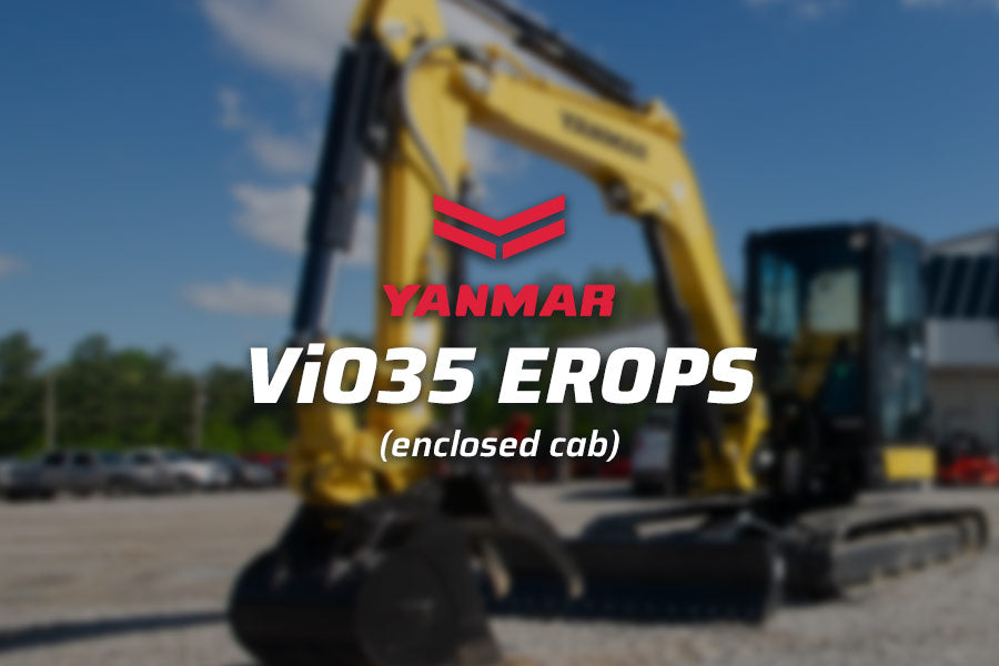 Yanmar Lease Deal ViO35 EROPS