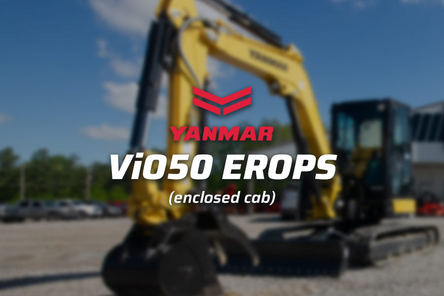 Yanmar Lease Deal ViO50 EROPS