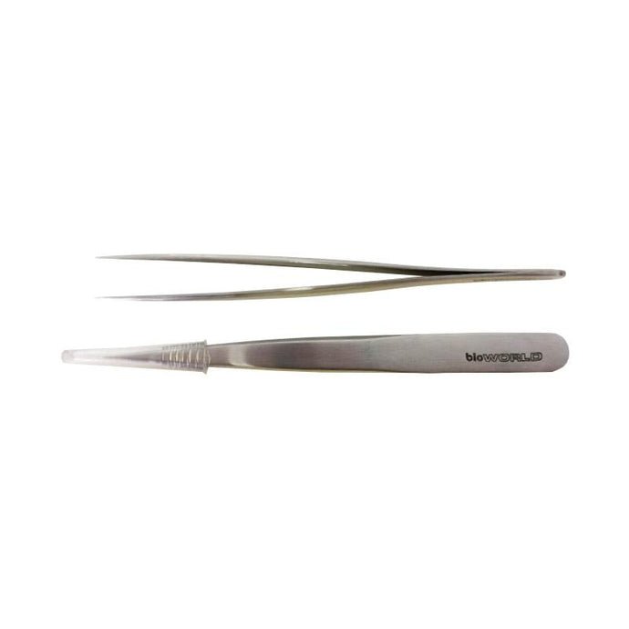 4 1/8 Inch Stainless Steel Microdissection Forceps
