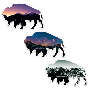 Bison Stickers